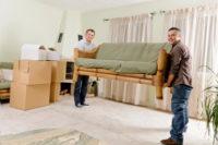 грузчики переставить дома мебель