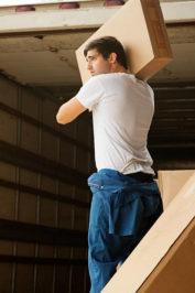 Подъем стройматериала на этаж
